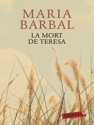 cover image of La mort de Teresa