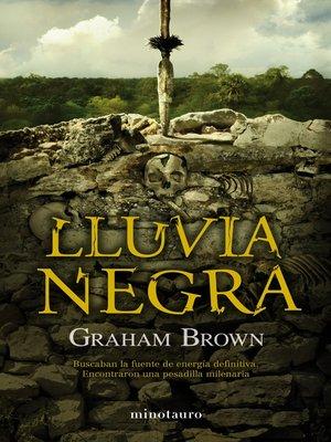 cover image of Lluvia negra