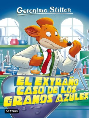 cover image of El extraño caso de los granos azules