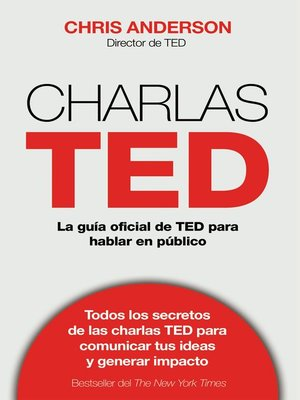 cover image of Charlas TED