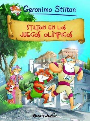 cover image of Stilton en los Juegos Olímpicos