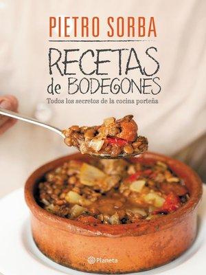cover image of Recetas de los bodegones