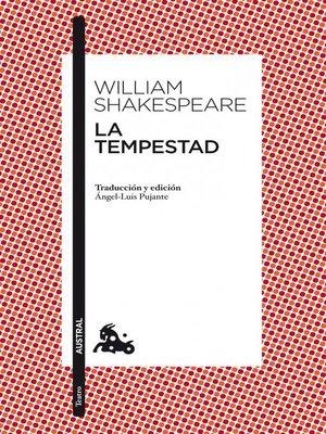 cover image of La tempestad