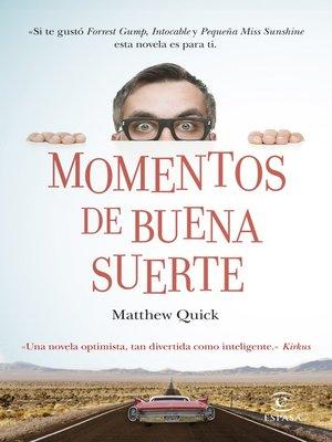 cover image of Momentos de buena suerte