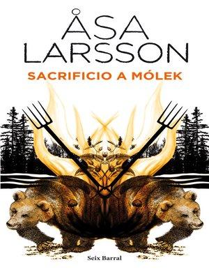 cover image of Sacrificio a Mólek