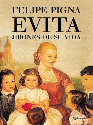cover image of Evita. Jirones de su vida