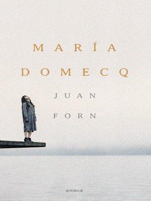 cover image of María Domecq