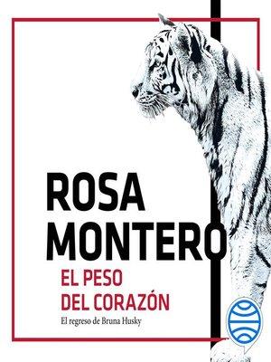 cover image of El peso del corazón
