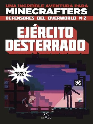 cover image of Minecraft. Ejército desterrado
