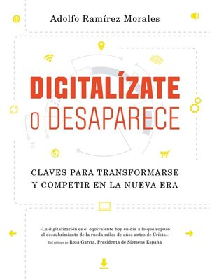 cover image of Digitalízate o desaparece