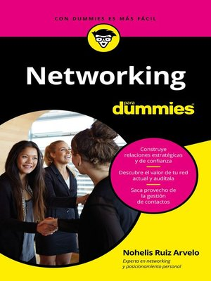 cover image of Networking para Dummies