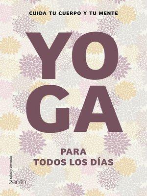 cover image of Yoga para todos los días