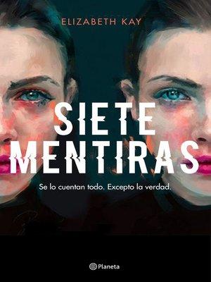 cover image of Siete mentiras
