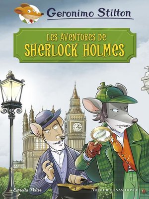cover image of Les aventures de Sherlock Holmes