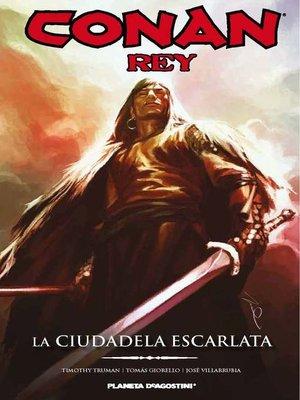 cover image of Conan Rey La ciudadela escarlata