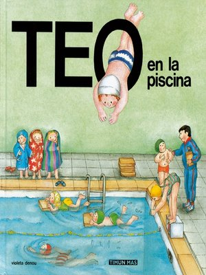 cover image of Teo en la piscina