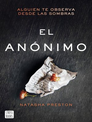 cover image of El anónimo