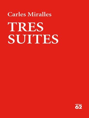 cover image of Tres suites