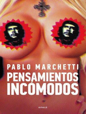 cover image of Pensamientos incómodos
