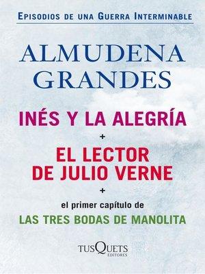 cover image of Inés y la alegría + El lector de Julio Verne (pack)