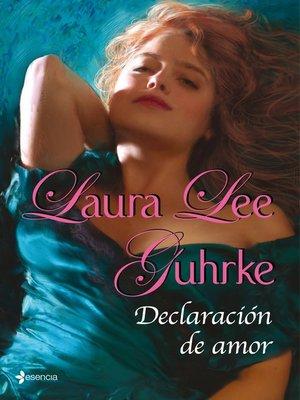 cover image of Declaración de amor