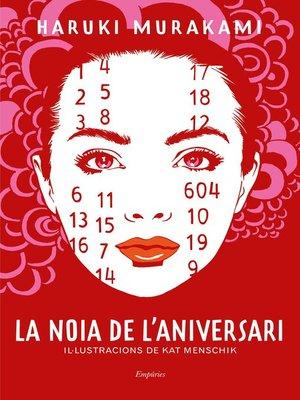 cover image of La noia de l'aniversari
