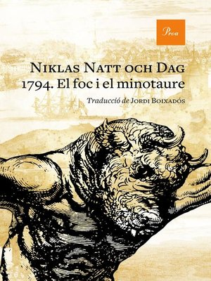 cover image of 1794. El foc i el minotaure