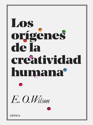 cover image of Los orígenes de la creatividad humana