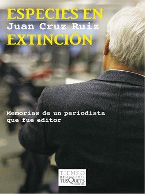 cover image of Memorias de un periodista que fue editor