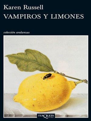 cover image of Vampiros y limones