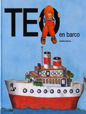 cover image of Teo en barco