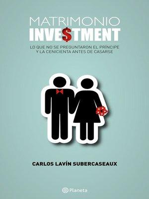 cover image of Matrimonio investment