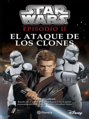 cover image of Star Wars. Episodio II. El ataque de los clones