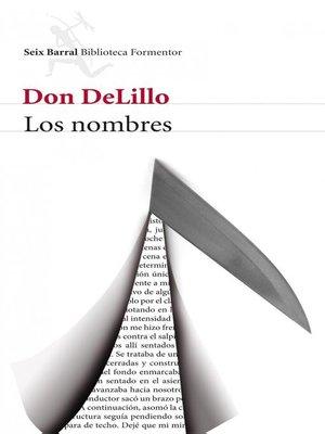 cover image of Los nombres
