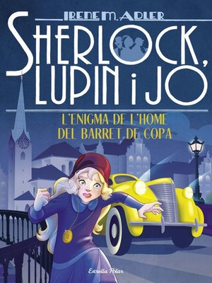 cover image of L'enigma de l'home del barret de copa