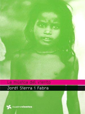 cover image of La música del viento