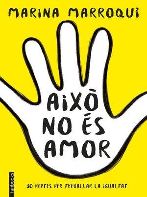 cover image of Això no és amor
