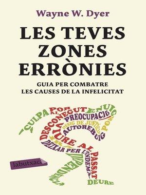 cover image of Les teves zones errònies