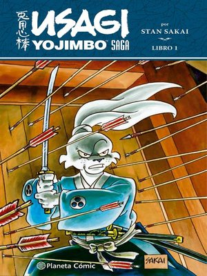 cover image of Usagi Yojimbo Saga Integral nº 01