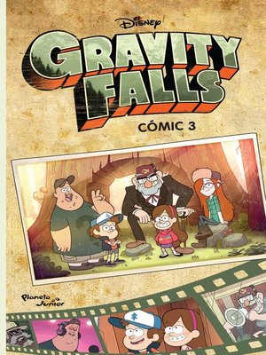 cover image of Gravity Falls. Cómic 3