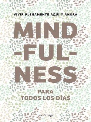 cover image of Mindfulness para todos los días