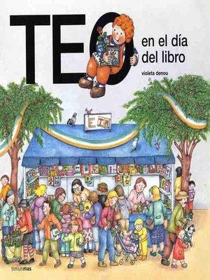 cover image of Teo en el día del libro