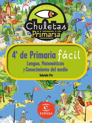 cover image of Chuletas para 4º de Primaria
