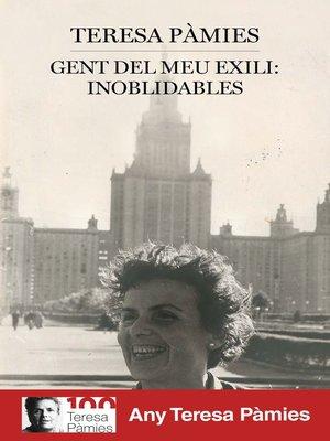 cover image of Gent del meu exili