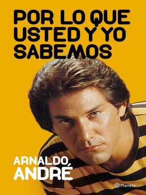 cover image of Por lo que usted y yo sabemos