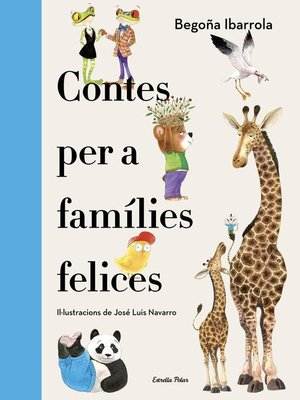 cover image of Contes per a famílies felices