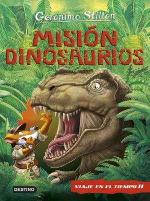 cover image of Misión Dinosaurios