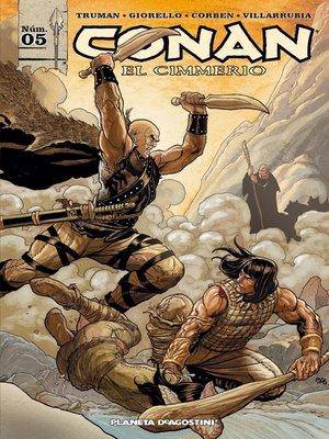 cover image of Conan el cimmerio nº 05/17