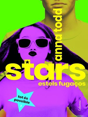 cover image of Stars. Estels fugaços