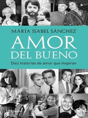 cover image of Amor del bueno